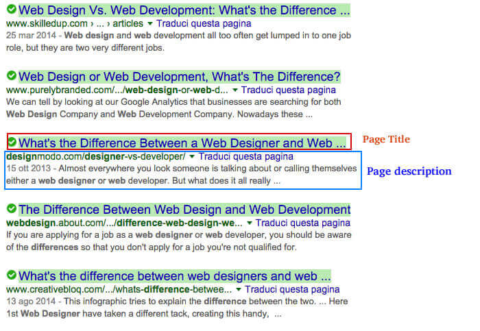 Design website with difference internet marketing